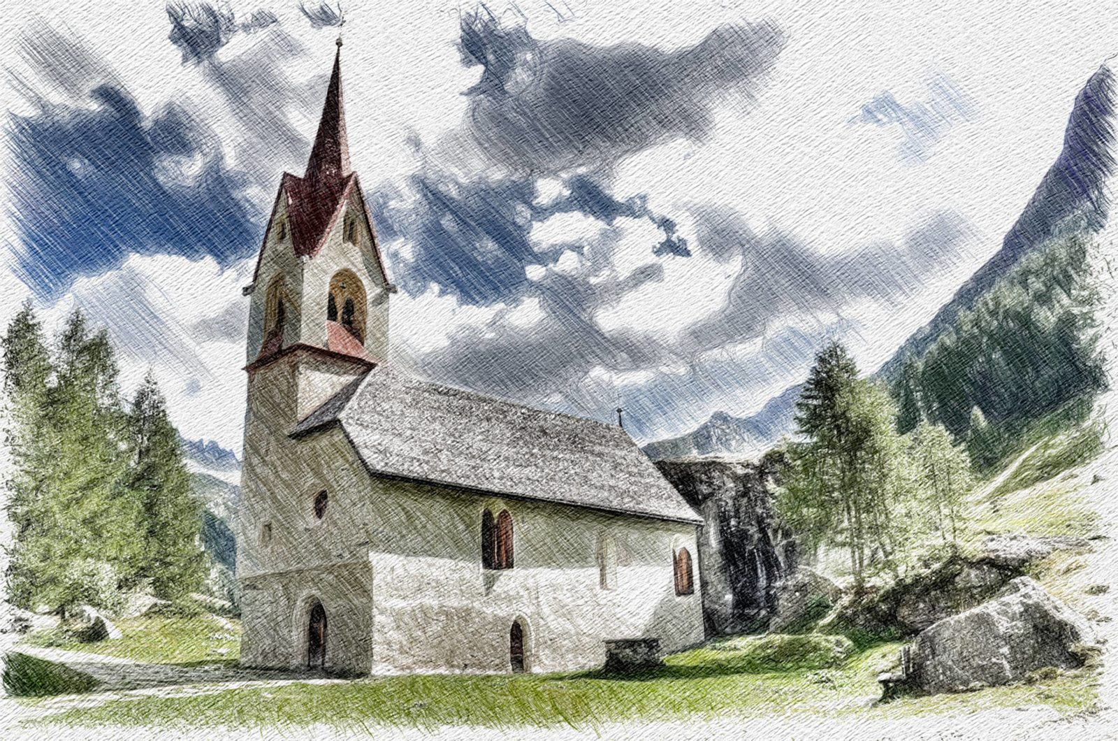 Chiesa di Santo Spirito in valle Aurina