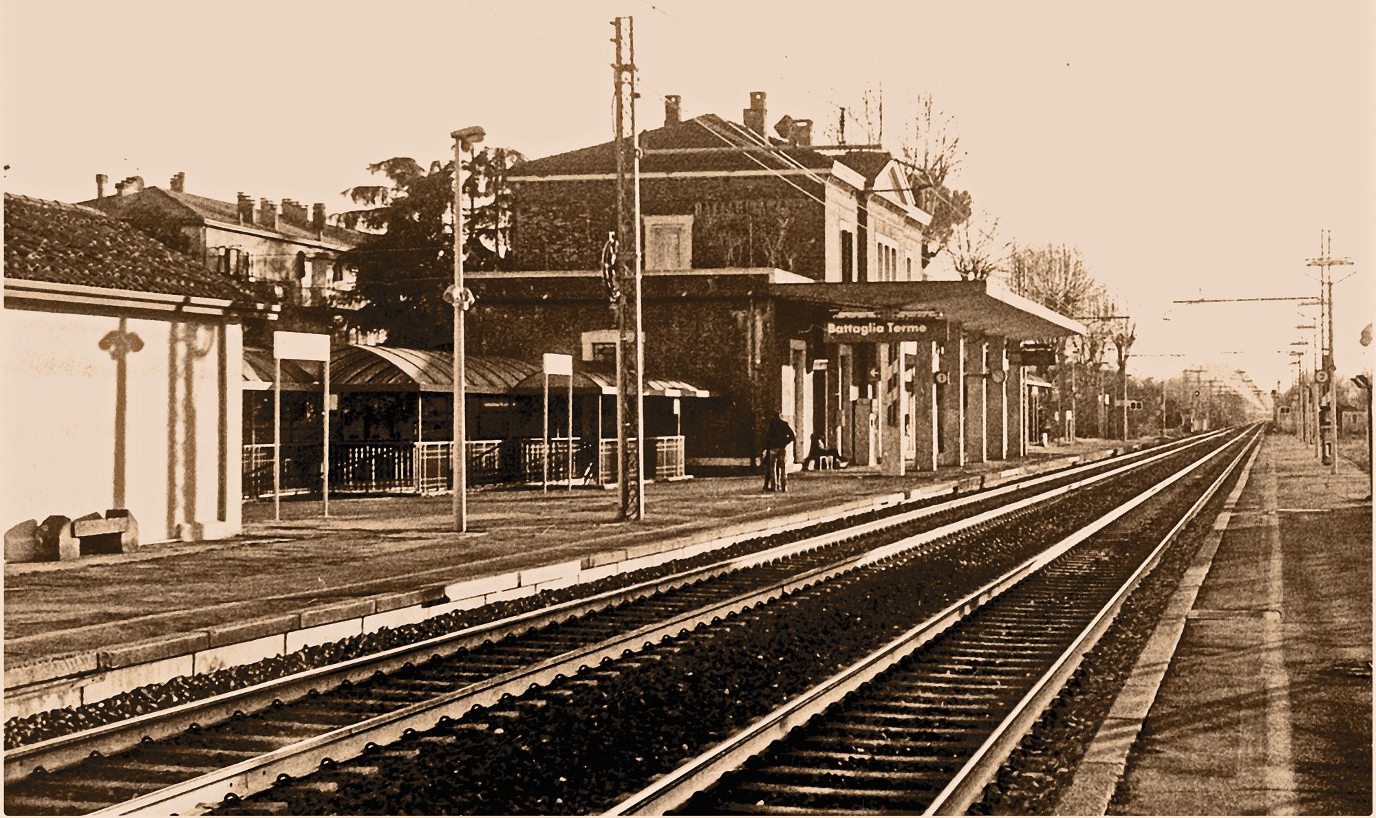 Stazione ferroviaria di Battaglia Terme (PD)
