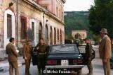 Il Maggiore Carlo Baldracchini ed il capitano Giovanni Ridinò a Napoli