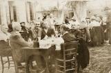 Ostaria dala Capelara nel 1930 a Battaglia Terme luogo di incontro dei barcàri