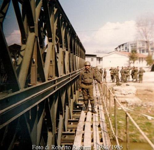 Roberto Righetti ed il ponte Bailey