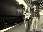 Il treno a vapore nelle Dolomiti